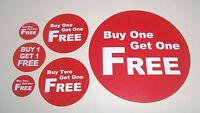 Comprane Uno Ne Avrai Gratis / Due Prendi - Adesivi / Etichette Brillantino -  - ebay.it