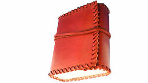 BARGAIN LEATHER NOTEBOOK JOURNAL DIARY LEATHERBOUND HANDMADE COTTON PAPER