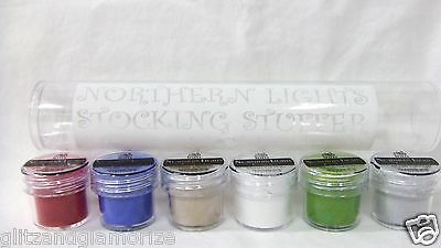 Inm Nail Colored Powder Northern Lights Stocking Stuffer 6pc/tube
