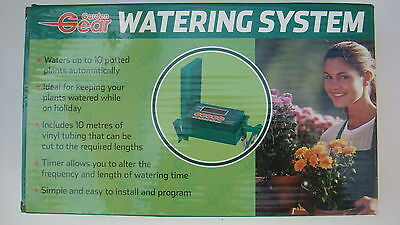 GARDEN GEAR WATERING SYSTEM - WATERS UP TO 10 POTTED PLANTS AUTOMATICALLY