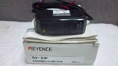 Keyence Laser Sensor Digital Cmos Gv-21p New Gv21p