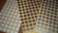 1000 13mm Rotondo Gioielleria Adesivi Prezzo Etichette Targhette Oro/argento/ -  - ebay.it