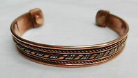 Magnetic Copper Bangle - - Pretty Bangle - Bnib -  - ebay.co.uk