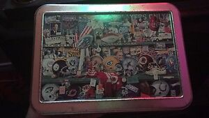 Nfl tin box vintage