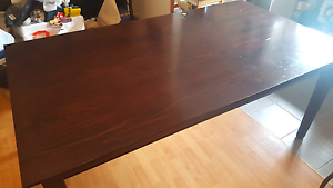 Wooden Dining Table Cabramatta West Fairfield Area Preview