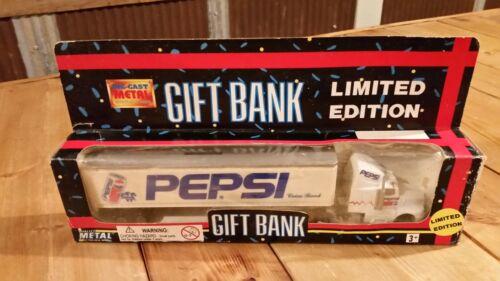 Pepsi gift bank semi truck limited edition rare 1:64