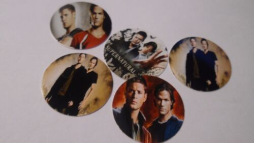 Pre Cut One Inch Bottle TV SHOW SUPERNATURAL Free Shipping