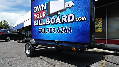 6x10 Billboard Trailer Led Lights With Vinyl Banners Not An Led Screen