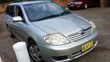 2005 Toyota Corolla Wagon ,auto registerd till 15/08/2016 Kogarah Rockdale Area Preview