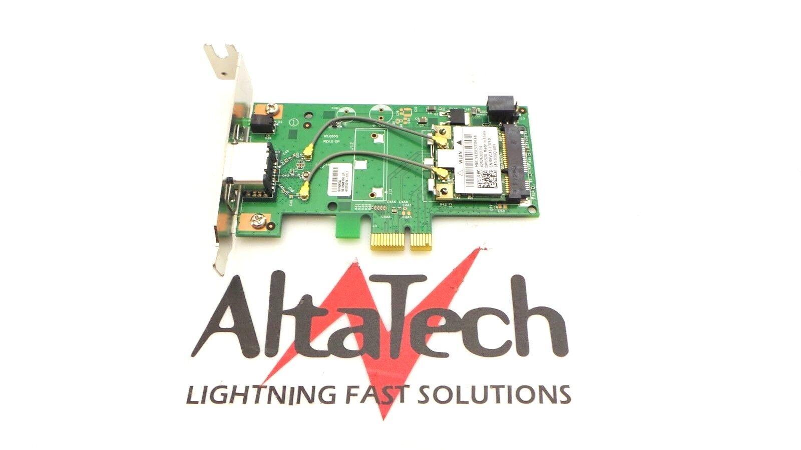 Dell 8VP82 Broadcom DW1520 PCI-e Low Profile Wireless WIFI Card w// KVCX1