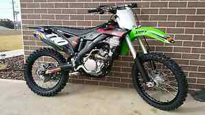 2015 kawasaki KX250F Inverell Inverell Area Preview