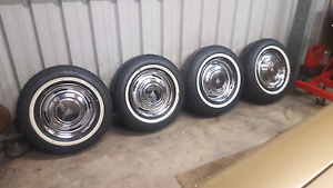 Hq Hj Hz Holden Kingswood car wheels rims Redcliffe Redcliffe Area Preview