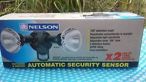 Nelson outdoor automatic sensor lights x 2 Batemans Bay Eurobodalla Area Preview