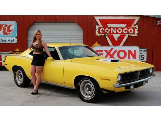 Plymouth : Barracuda 1970 plymouth cuda free shipping sale price vcode 440 6 pack build sheet ac pb ps