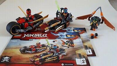 Lego Ninjago Ninja Bike Chase, Set 70600, 100% Complete with Instructions