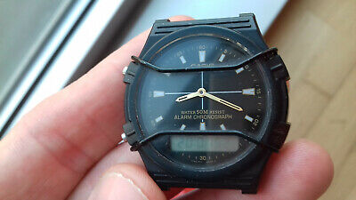 Casio VINTAGE AW-5 MODULE 1301 WATCH RARE MALAYSIA Y MONTRE COLLECTORS UHR