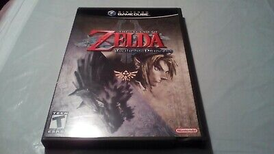 Legend of Zelda: Twilight Princess (GameCube) - Complete with Box and Manual