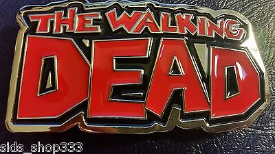 ✖ The Walking Dead Belt Buckle Cosplay  collectible Full Metal norman reedus for sale  Shipping to India