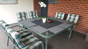 Outdoor dining set + 8 x chairs Eden Hill Bassendean Area Preview