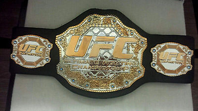 """UFC ULTIMATE FIGHTING Championship Jakks Belt 34"""" W OFFICIAL McGREGOR MAYWEATHER for sale  Orlando"""