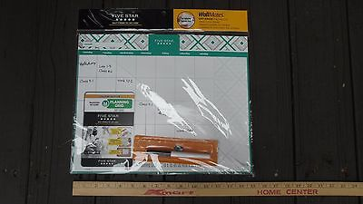 Five Star Wall Mates Dry Erase Planning Grid College Edition 12 X 15 Reusable