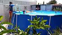 Above ground 15 foot pool with filter and ladder North Haven Port Adelaide Area Preview
