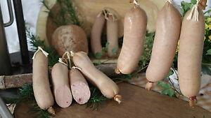 Thüringer Eichsfelder Leberwurst hausmacher Art fein ca.170g/ Stück