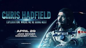 Looking to buy Chris Hadfield Tickets