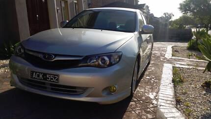Subaru Impreza RS 09 MY10 Manual AWD Dingley Village Kingston Area Preview