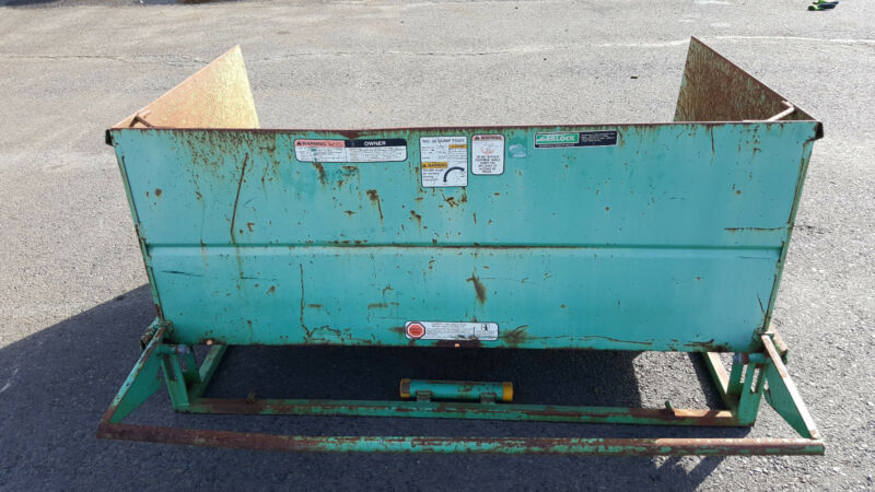 Garlock Dumping Tray 30 Cubic ft 500lb Load Limit