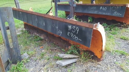 """MONROE 10 FT SNOWPLOW POWER ANGLE 29"""" HUSTING HITCH #59"""
