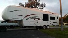 2007 Sundance 5 th wheeler 34ft 3 large pushouts with extras Armadale Armadale Area Preview