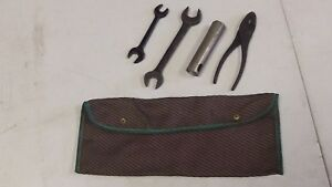 NOS GM ACCESSORIES CHEVY CAR TRUCK TOOL BAG WITH TOOLS 986362