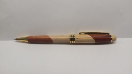 Personalized Maple/Rosewood Pen Custom Laser Engraved