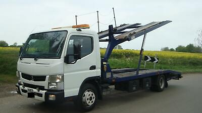 63 REG MITSUBISHI FUSO CANTER 7C15 RECOVERY TWIN DECK CAR TRANSPORTER