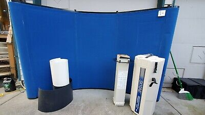 Skyline Mirage Curved 7.5ft X 5 Trade Show Tabletop Display Booth