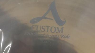 "Zildjian 21"" A Custom Anniversary Ride A20822 best offer me lowest"