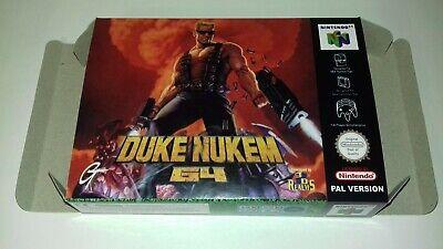 Duke Nukem 64 - PAL - Nintendo 64 - N64 - Only Box