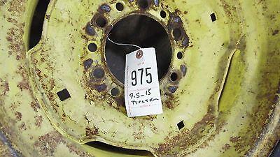 Jd 6 Lug Tractor Rim 9.5x15 Co-op Tri Rib Tractor Tire Item 0975