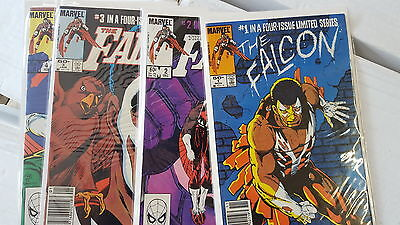 from Avengers Comic lot Falcon 1 2 3 4 1-4 VF bagged boarded - Avengers 2 Falcon
