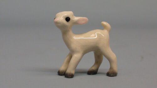 Retired Hagen Renaker White Baby Goat