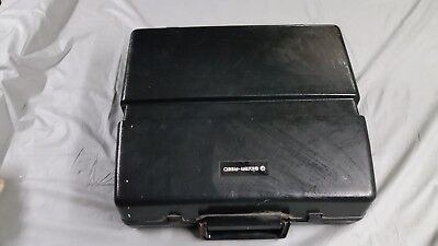 Vintage Silver-Reed 8650 Typewriter with case and manual, as is