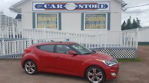 2016 Hyundai Veloster SE SUNROOF HEATED PARTIAL LEATHER NAV!! BA