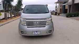 2004 Nissan Elgrand 8 seat 10mnth REG - EXCELLENT! Reservoir Darebin Area Preview