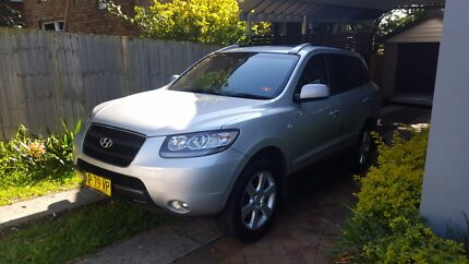 2007 Hyundai Santa Fe_Elite CRDi, 7 Seats, Great Family Car Middle Cove Willoughby Area Preview