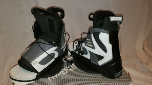 NEW Hyperlite State Wakeboard Boots Standard Black / grey 6-11.5 Retail $255