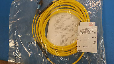 (1) Amp/tyco 1457203-1 Fiber Optics Cable Connector Mpx (...
