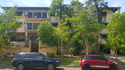 Bright, spacious 2br 2bath furnished secure unit in Larrakeyah