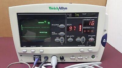 Welchallyn 6200 Series Vital Signs Monitor.