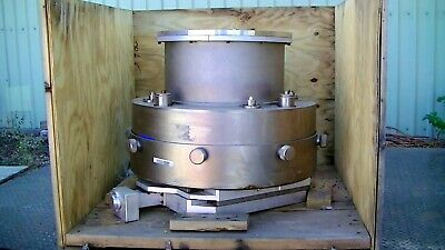 Custom Stainless Steel Bellows Vacuum Beam Chambers With Beam Alignment